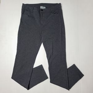 Athleta 8 Gray Skinny Pocketed Jegging Pants